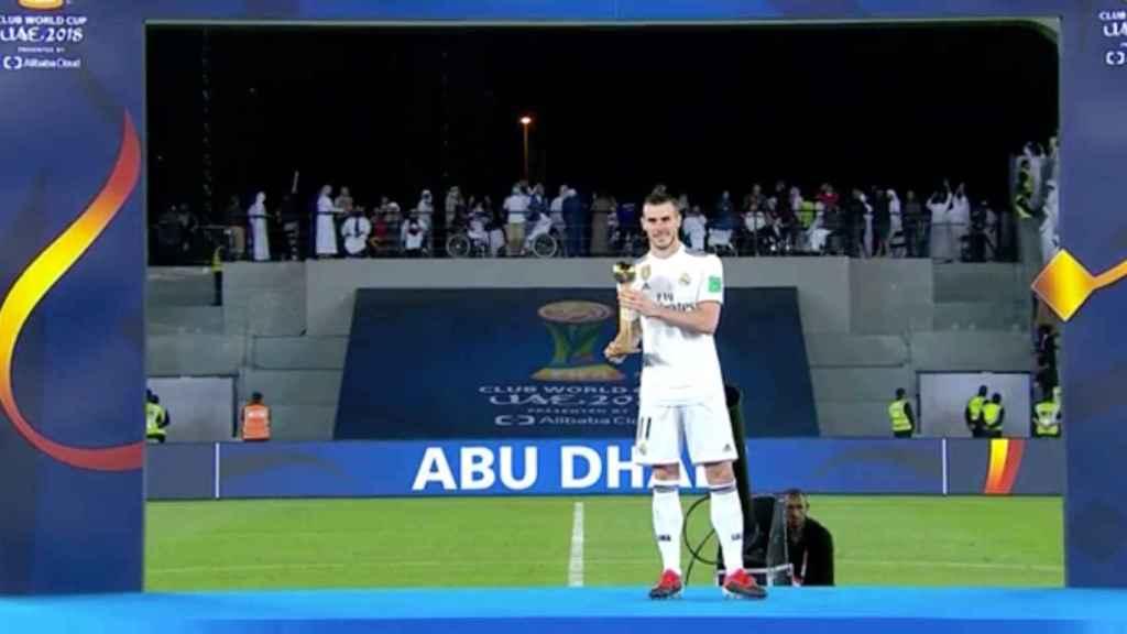 Gareth Bale, Balón de Oro del Mundial de Clubes 2018