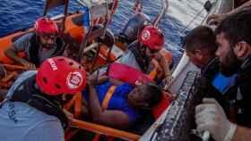 Rescate del buque español Open Arms en una imagen de archivo,
