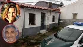Imagen de la pequeña casa en la que vivió la fallecida maestra Laura Luelmo en El Campillo