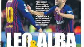 Portada del diario Mundo Deportivo (23/12/2018)