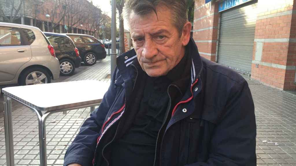 Ángel Colmena, padre del fallecido