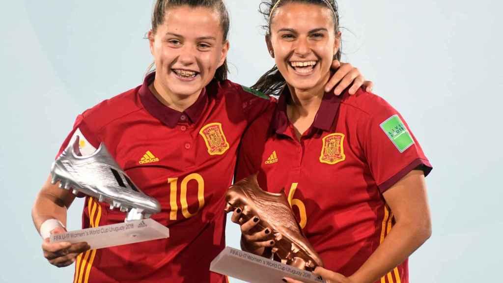 La selección sub17, campeona del mundo. Foto: sefubtol.com