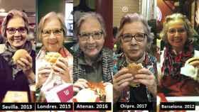 Desde 2010, Elena y su hija cenan en un restaurante de comida rápida en Nochebuena.