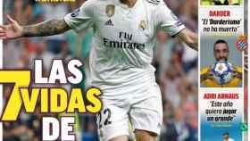 La portada del diario MARCA (25/12/2018)