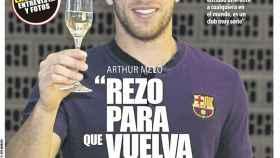 La portada del diario Mundo Deportivo (25/12/2018)