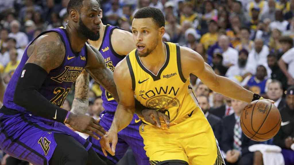 Curry contra LeBron