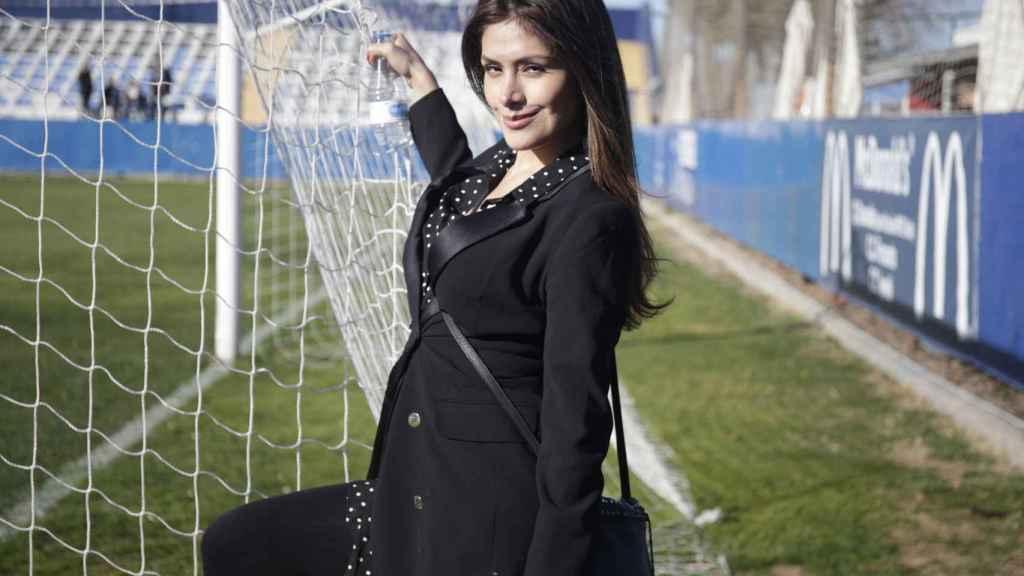 Miriam Saavedra en imagen de archivo.