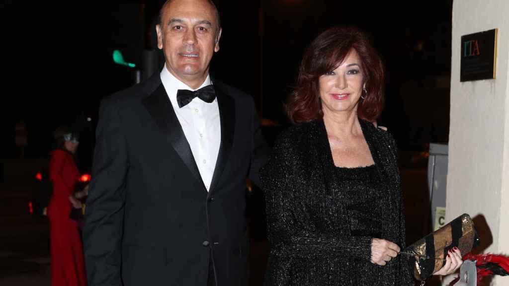 Ana Rosa Quintana y Juan Muñoz en una imagen de archivo