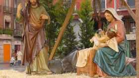 El belén navideño, la tradición española del PP que nació en Italia.