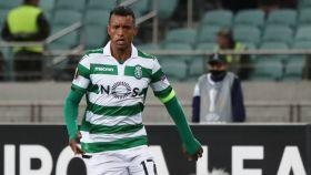 Nani con el Sporting de Lisboa