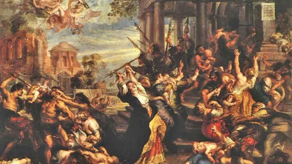 La matanza de los Santos Inocentes.