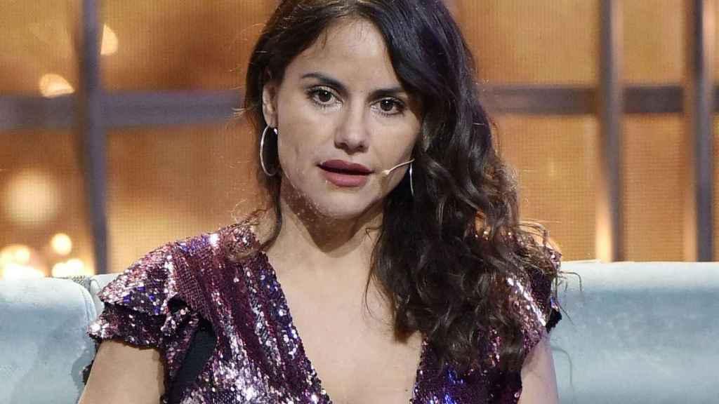 Mónica Hoyos durante uno de los debates de Gran Hermano Vip.