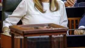 Susana Díaz, presidenta saliente de la Junta de Andalucía.