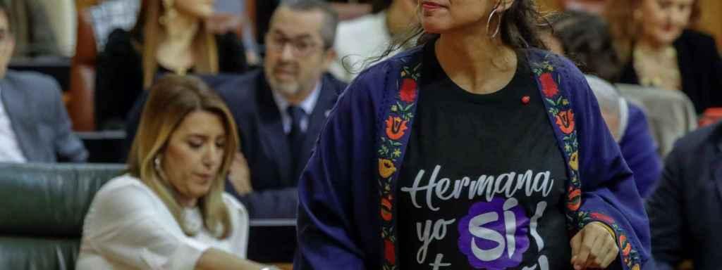 Teresa Rodríguez, líder de Podemos en Andalucía.