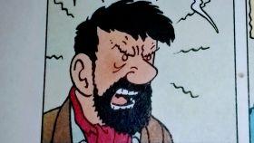 El capitán Haddock, insultador de nivel.