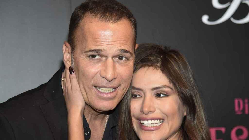 Lozano y Miriam Saavedra cuando eran pareja.
