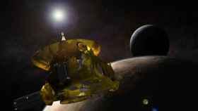 Representación de la NASA de la nave 'New Horizons' en el Cinturón de Kuiper