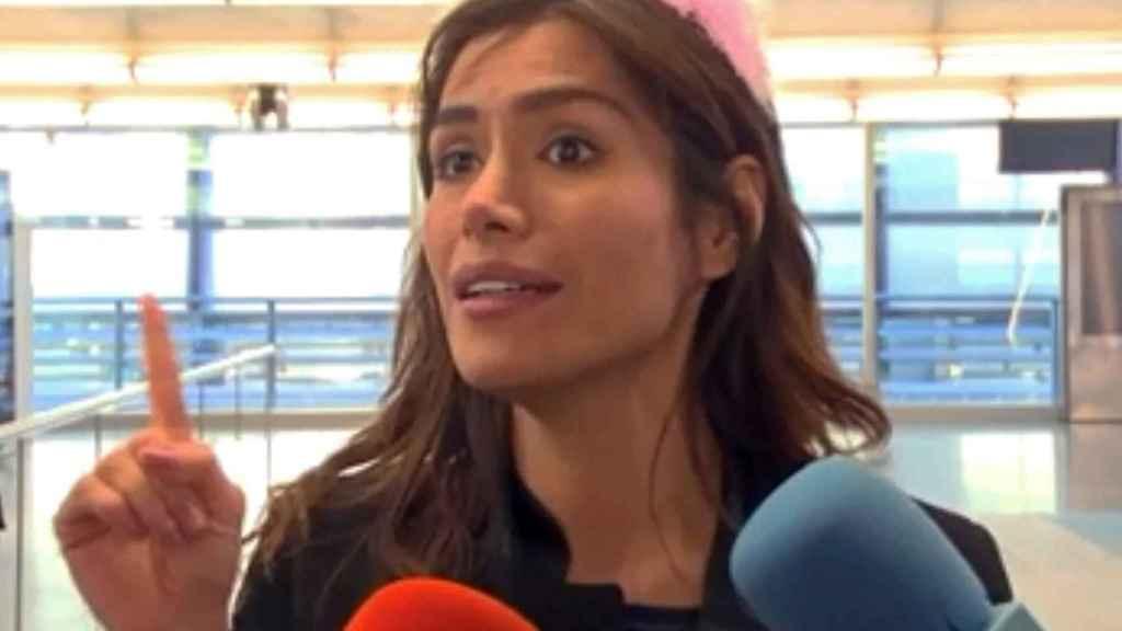 Miriam Saavedra en una imagen reciente.