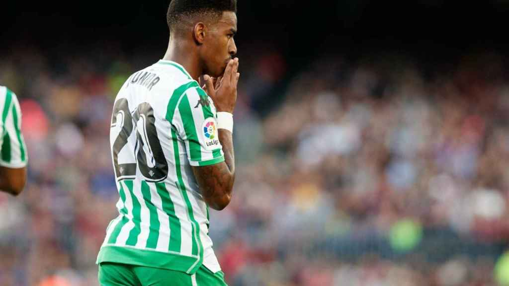 Júnior Firpo, jugador del Betis. Foto: Twitter (@RealBetis)