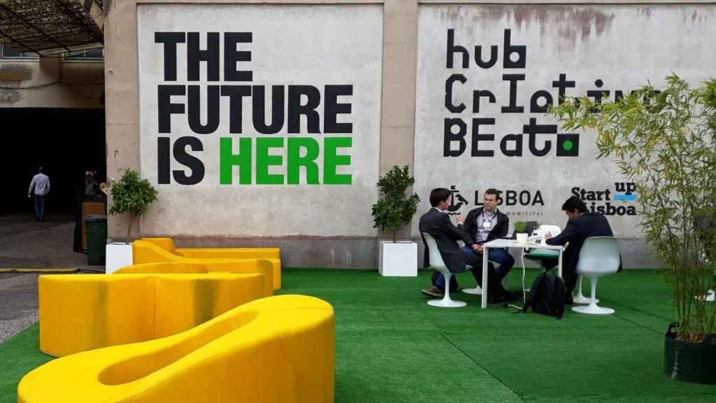 El  centro de 'start ups' de Beato, en Lisboa.