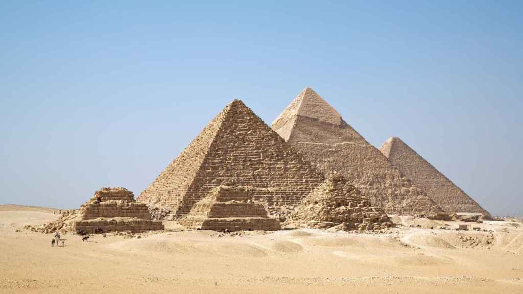 Pirámides de Guiza.