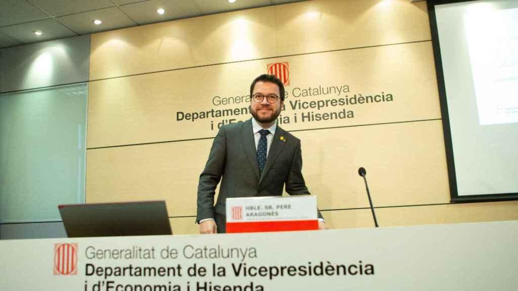El vicepresidente y conseller de Economía de la Generalitat, Pere Aragonès.