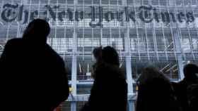 Fachada del The New York Times.