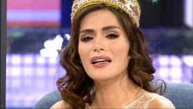 Miriam Saavedra en el plató de 'GH VIP'