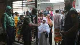 Jornada electoral en Bangladesh.
