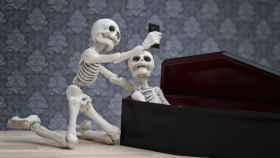 La muerte puede ser hilarante y esta historia lo demuestra