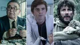 'Fariña', 'The Good Doctor' y 'La catedral del mar'.