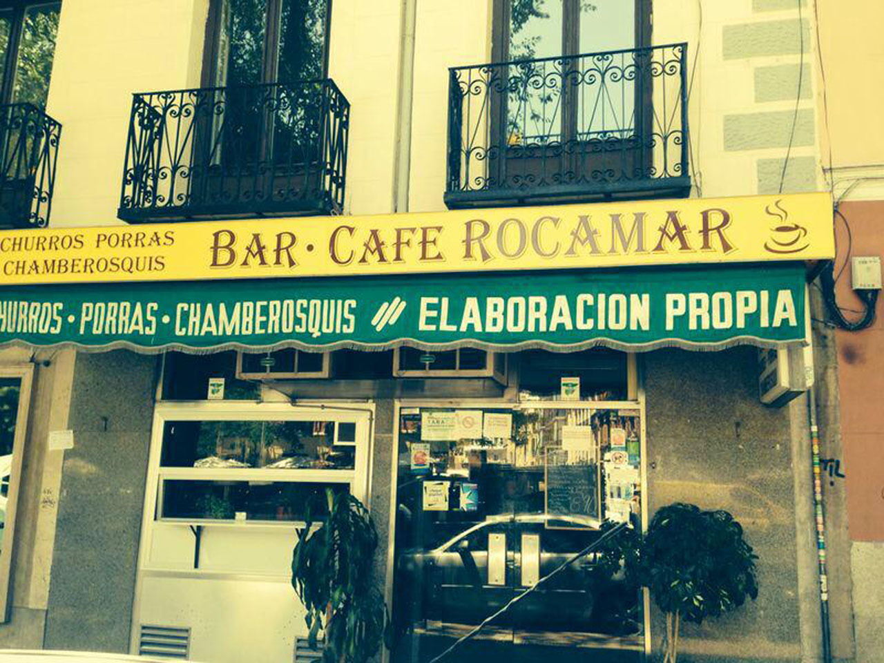 Los mejores chocolates con churros - Rocamar