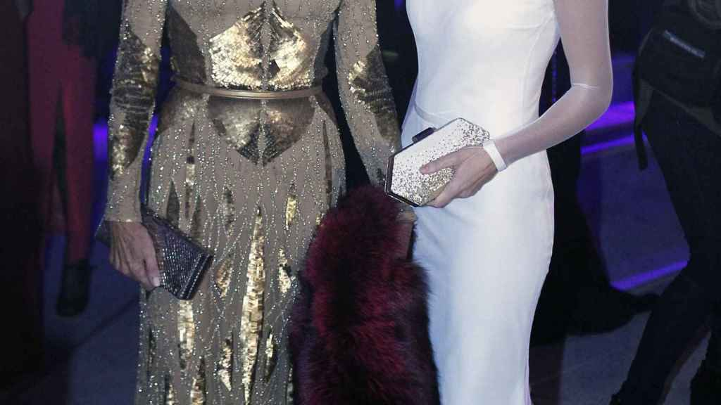 Naty Abascal junto a Laura Vecino.