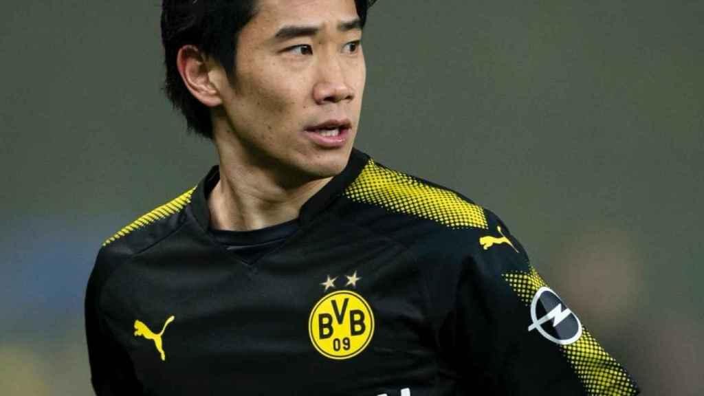 Kagawa en un partido con el Borussia Dortmund. Foto: Twitter (@S_Kagawa0317)
