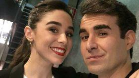 Candela Serrat y Dani Muriel.