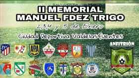 Cartel del II Memorial Manuel Fernández Trigo