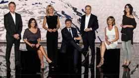 Los presentadores de 'Antena 3 Noticias'.