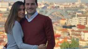 Sara Carbonero e Iker Casillas en una imagen de sus redes sociales.