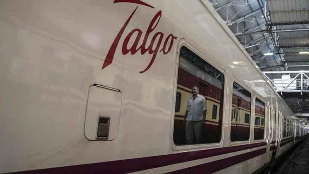 Un tren Talgo