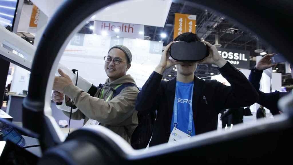 La realidad virtual ya fue una de las tecnologías protagonistas en la pasada edición de CES Las Vegas.