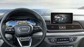 audi coche interior pantalla