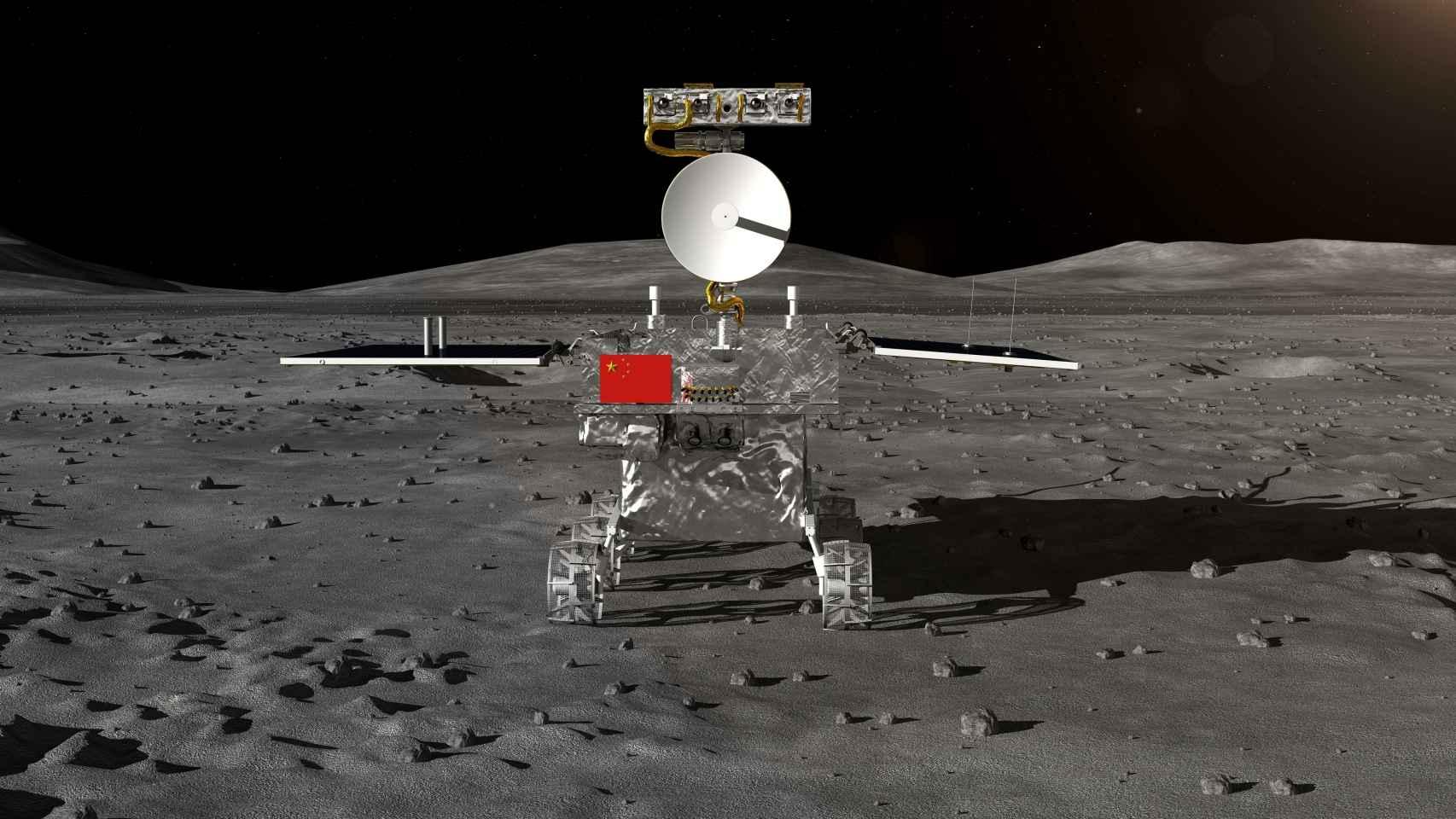 Las mejores imágenes de la cara oculta de la luna tomadas por la sonda Chang'e 4