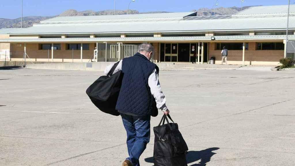 Rato ingresa en prisión el pasado 25 de octubre.