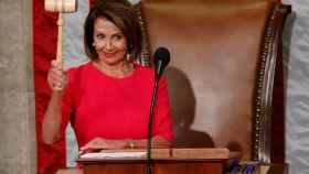 Nancy Pelosi, después de ser elegida