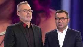 Jordi González y Jorge Javier Vázquez.