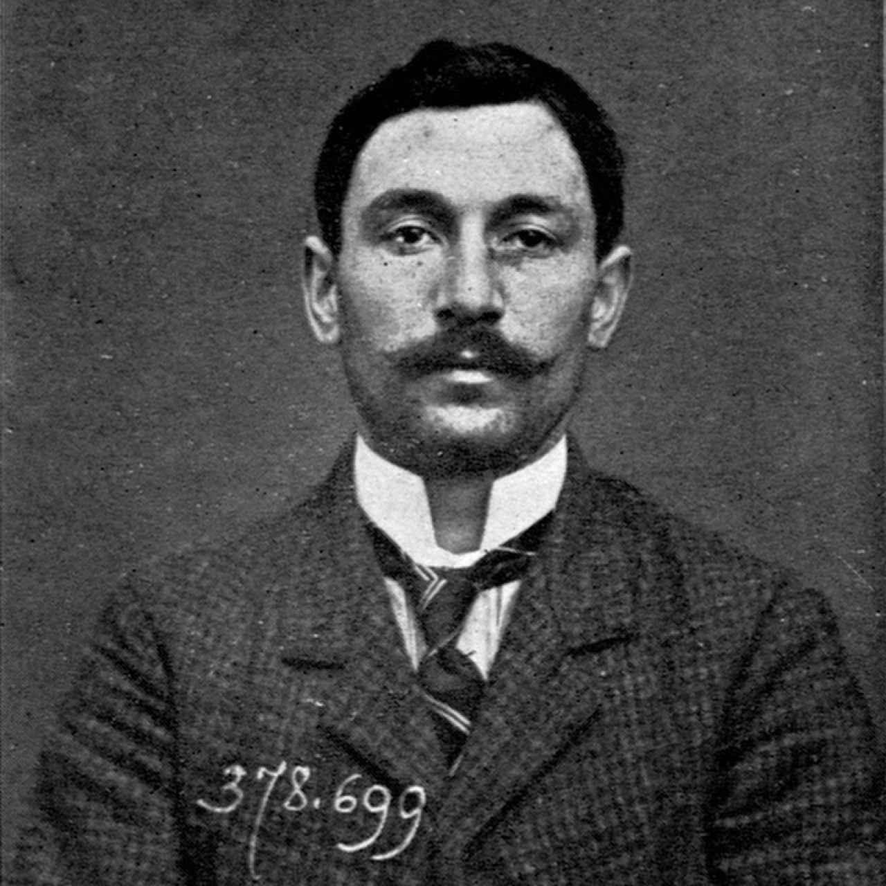 Vincenzo Peruggia, el verdadero ladrón.