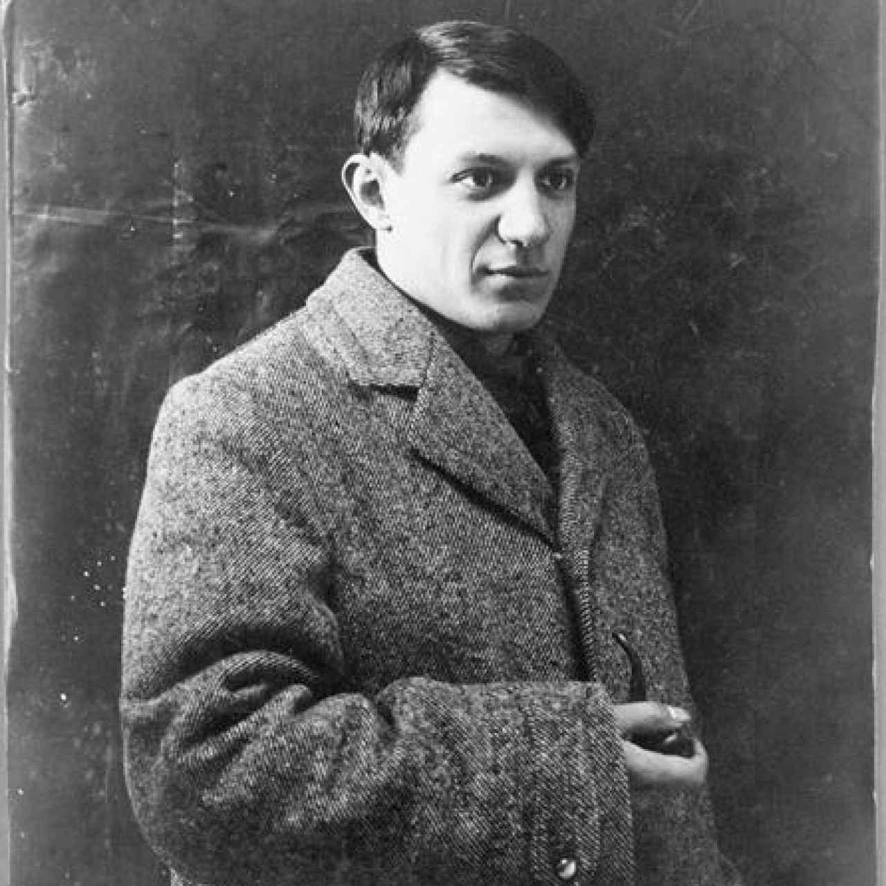 Picasso en 1908.
