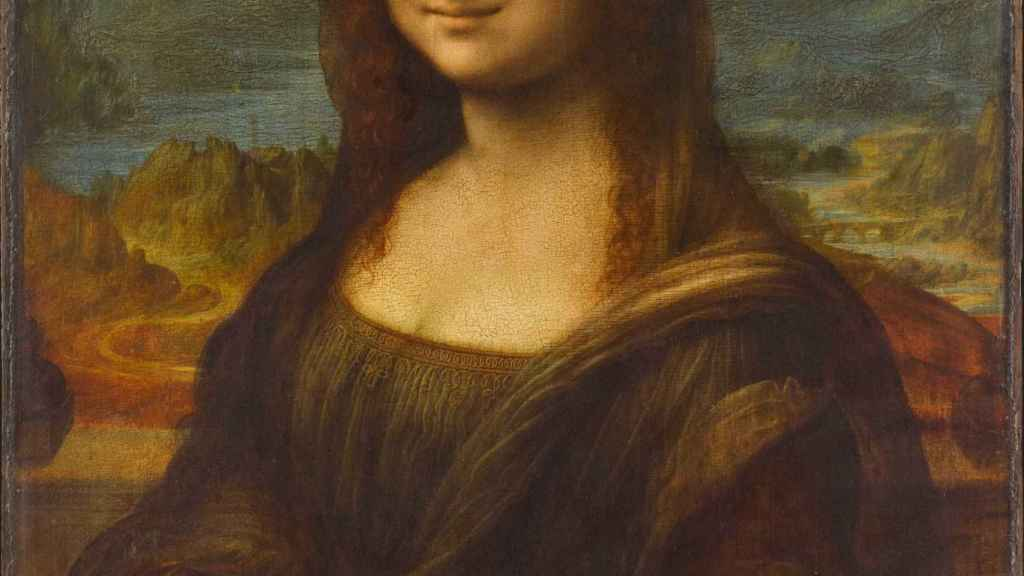 La Mona Lisa.