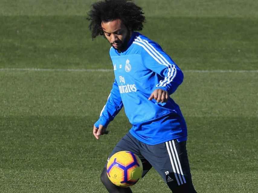 Marcelo en el entrenamiento