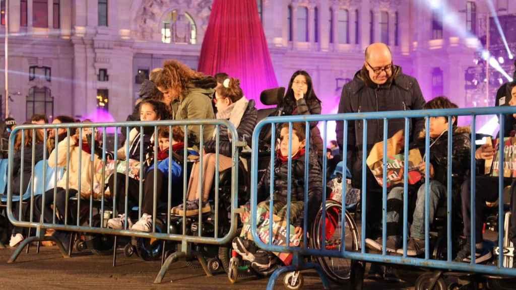 Cabalgata de Reyes Magos en Madrid.